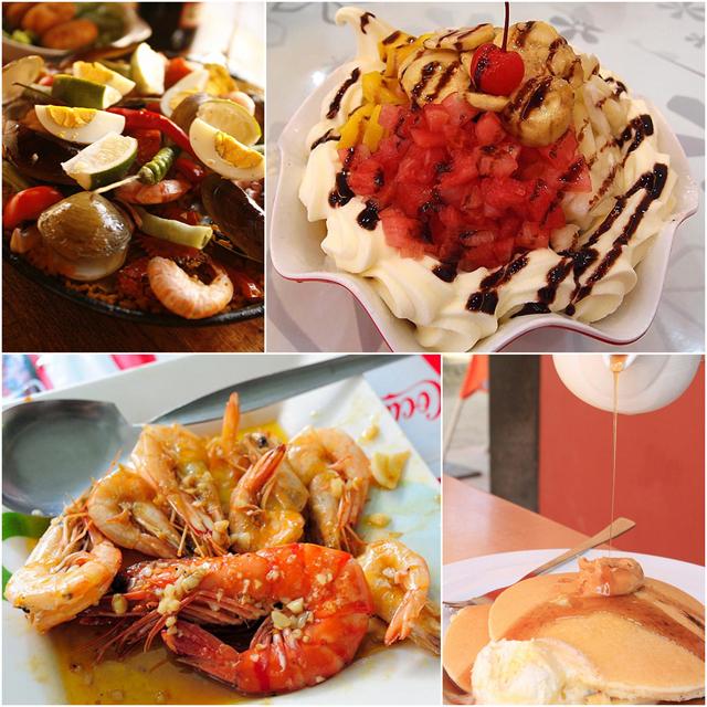 在長灘島,你可以品嚐到美味且豐盛的異國料理!