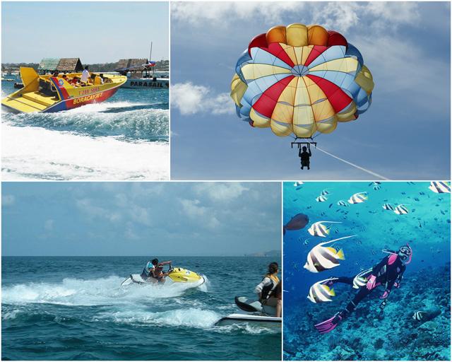 在長灘島,還有各式各樣刺激的水上活動等你來挑戰!