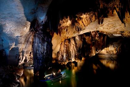 公主港地下河流公園 世界新7大奇景之一