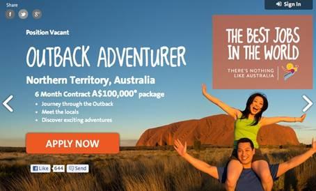 Outback Adventurer(內陸冒險家)
