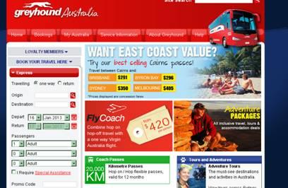 澳洲灰狗長途巴士公司