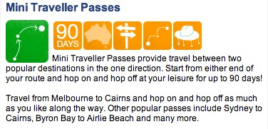 Mini Traveller Passes