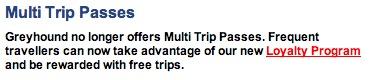 Multi Trip Passes