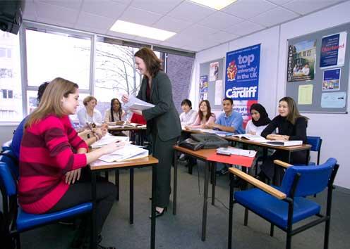 英國遊學-Kaplan-柏恩茅斯分校-上課情形