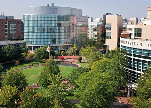 美國遊學-Kaplan-波士頓東北大學分校-校園環境