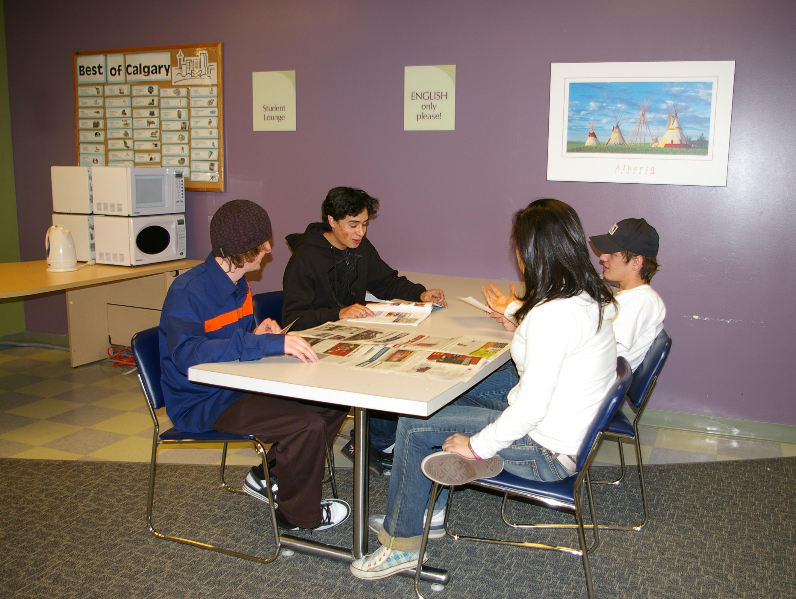 加拿大遊學-LSC-卡加利分校-上課情形