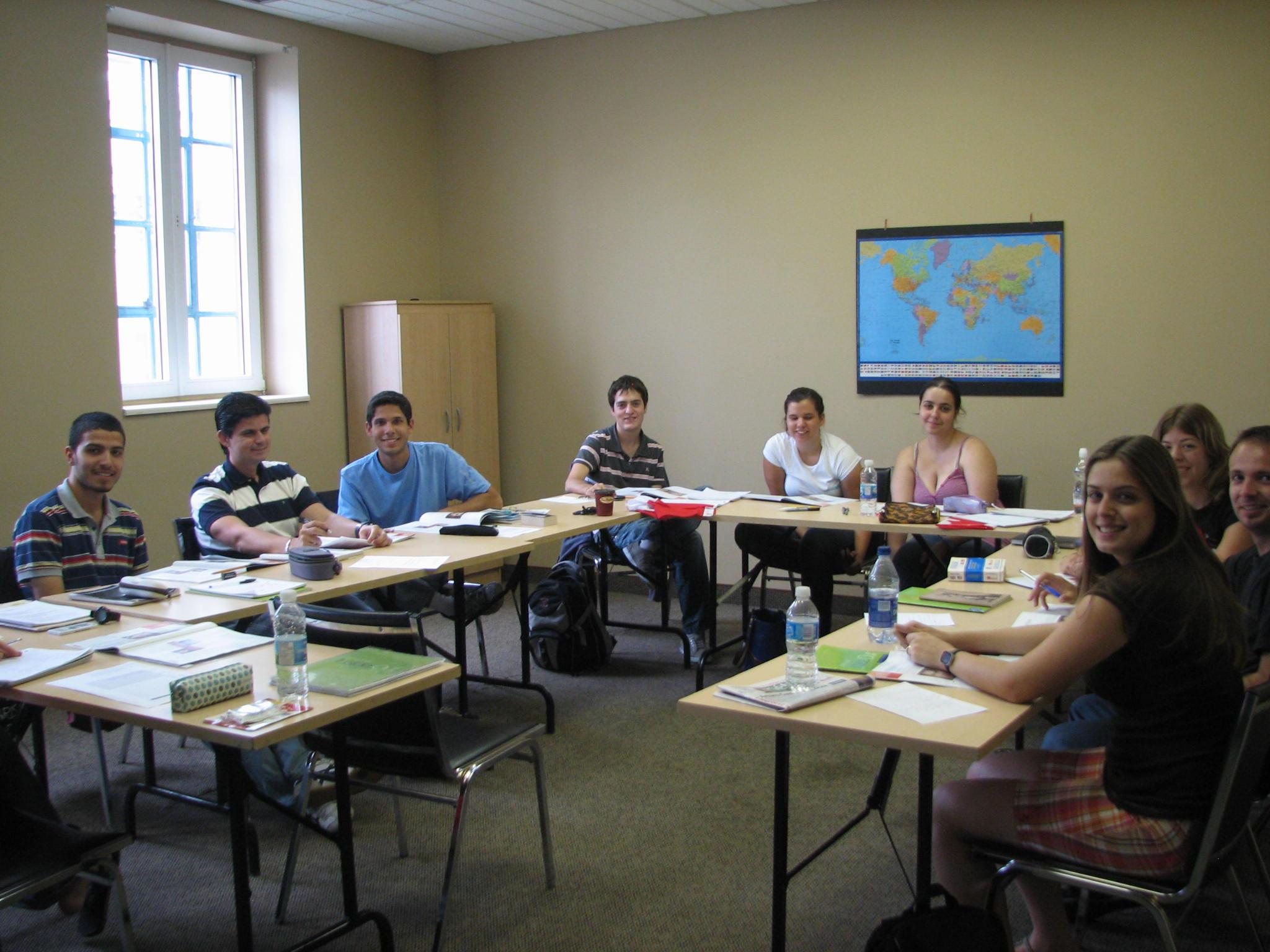 加拿大遊學-LSC-上課情形