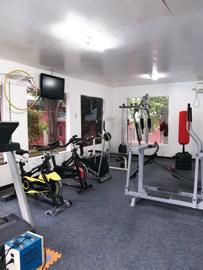 菲律賓遊學-克拉克-CIP健身房