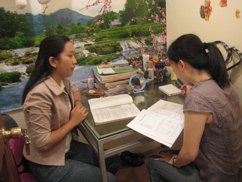 菲律賓遊學-Bacolod-e-Room-上課情形
