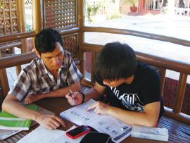 菲律宾游学-苏比克-EDT-上课情形
