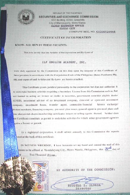 菲律賓遊學-巴克羅-ILP-菲律賓教育部 TESDA 認證