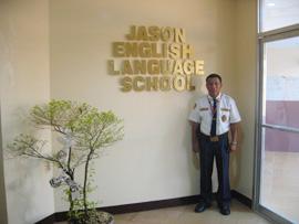 菲律賓遊學-巴克羅- JELS-警衛
