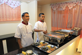 菲律賓遊學-巴克羅-LSLC-餐廳