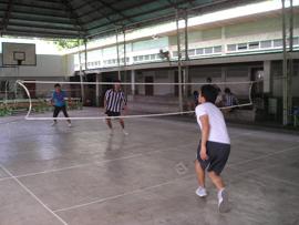 菲律賓遊學-巴克羅-LSLC-羽球場