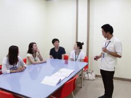 菲律賓遊學-宿霧-Philinter-上課情形
