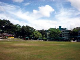 菲律宾游学-宿雾-USPF-学校操场