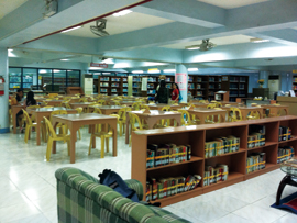 菲律宾游学-宿雾-USPF-图书室