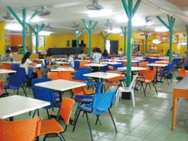 菲律宾游学-宿雾-USPF-餐厅